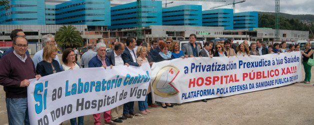 El nuevo hospital de Vigo va de protesta en protesta