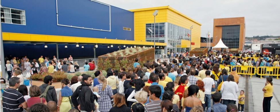 Las ventas de Ikea se derrumbaron un 30% desde que abrió sus puertas en A Coruña