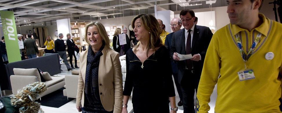 Cataluña se convierte en el primer mercado de Ikea en España