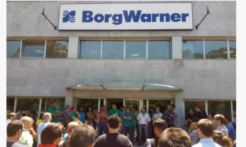 Borgwarner recula y da marcha atrás con su ERE para 103 empleados
