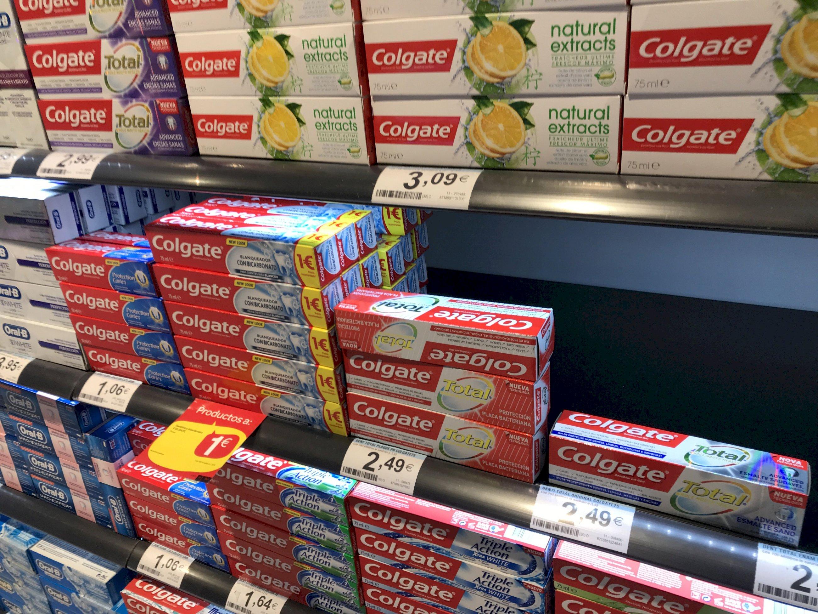 Ocho laboratorios usan el polémico ingrediente eliminado por Colgate