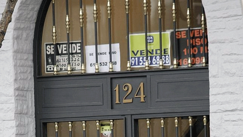 ¿Recuperación real? La vivienda cae en España otro 3,6% anual