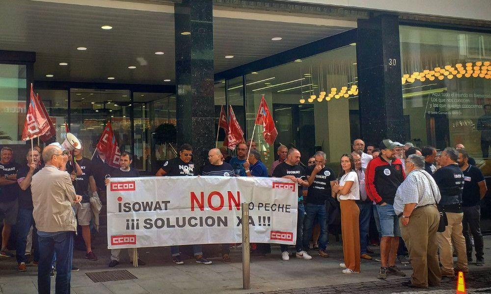 Isowat echa el cierre y deja en la calle a 66 trabajadores