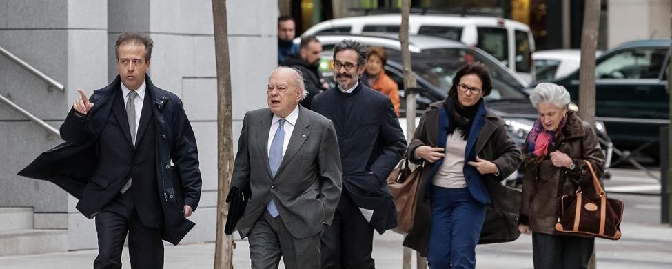 Jordi Pujol declara en la Audiencia por el origen de su fortuna en Andorra
