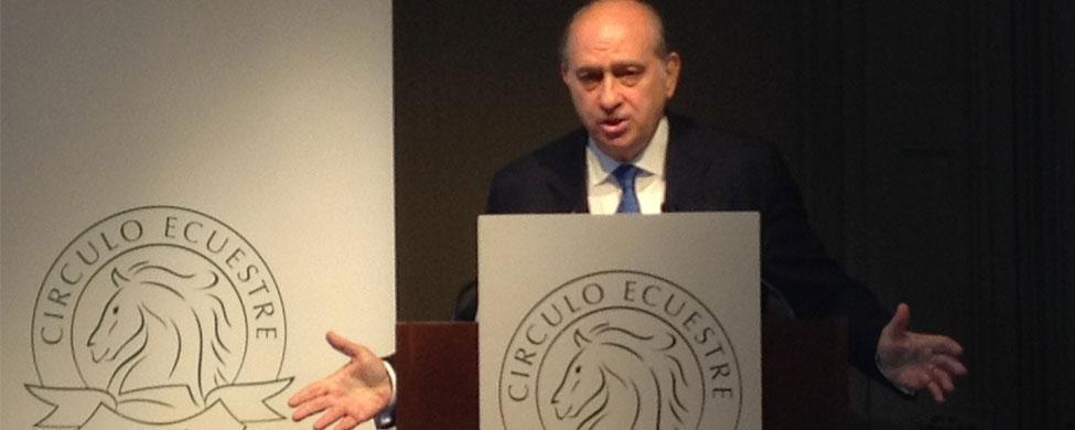 "Fernández Díaz dice que se reunió con Rato de forma ""personal"""