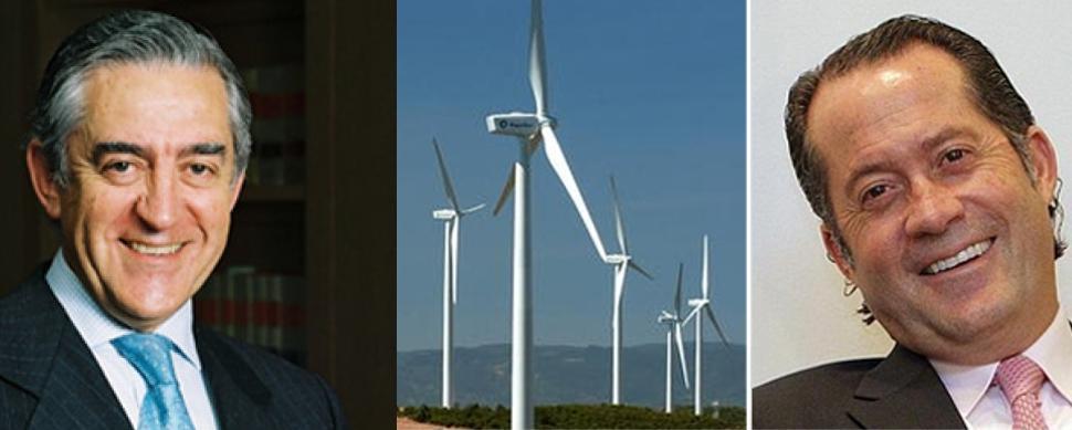 El grupo de López Isla engulle otros dos parques eólicos de Abanca