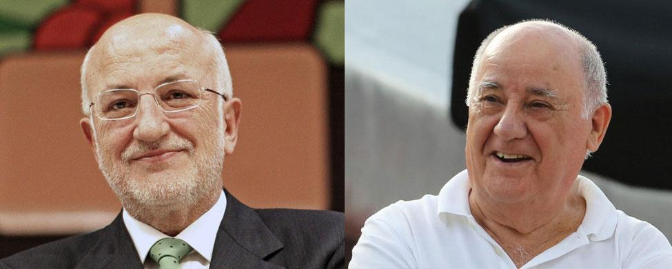 Las empresas familiares de Juan Roig y Amancio Ortega, en el top 100 del mundo