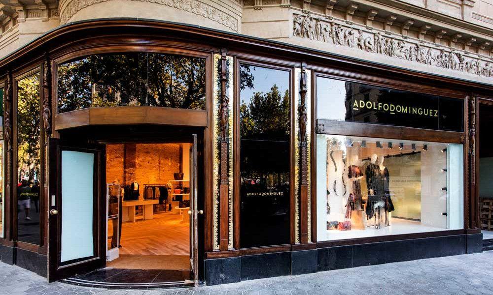Así luce la nueva tienda 'estrella' de Adolfo Domínguez