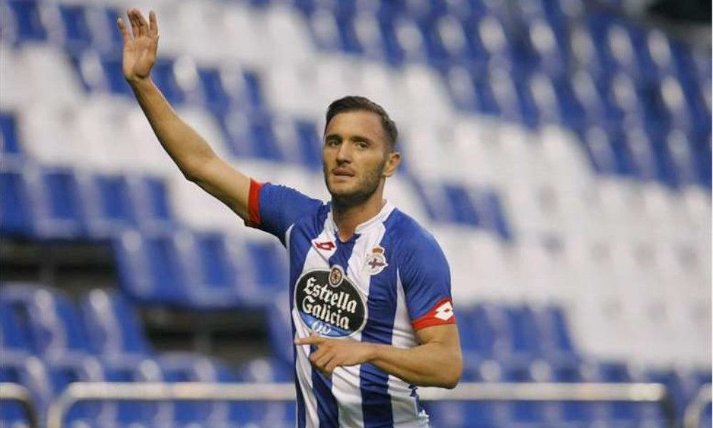 El coruñés Lucas Pérez entra en la cúpula del sindicato de futbolistas