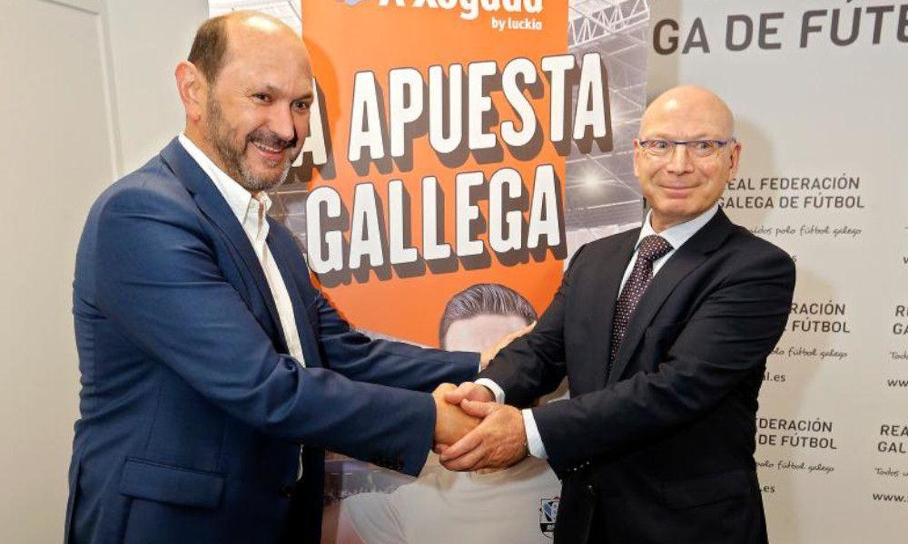 Luckia lanza un sistema de apuestas para el fútbol gallego