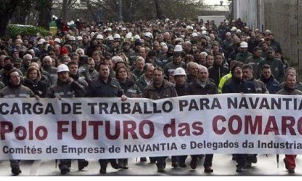 Navantia se suma al SOS industrial: sin carga de trabajo hasta 2022
