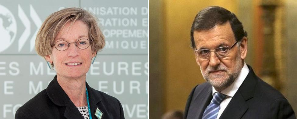 La OCDE presiona a Rajoy para que continúe con las reformas