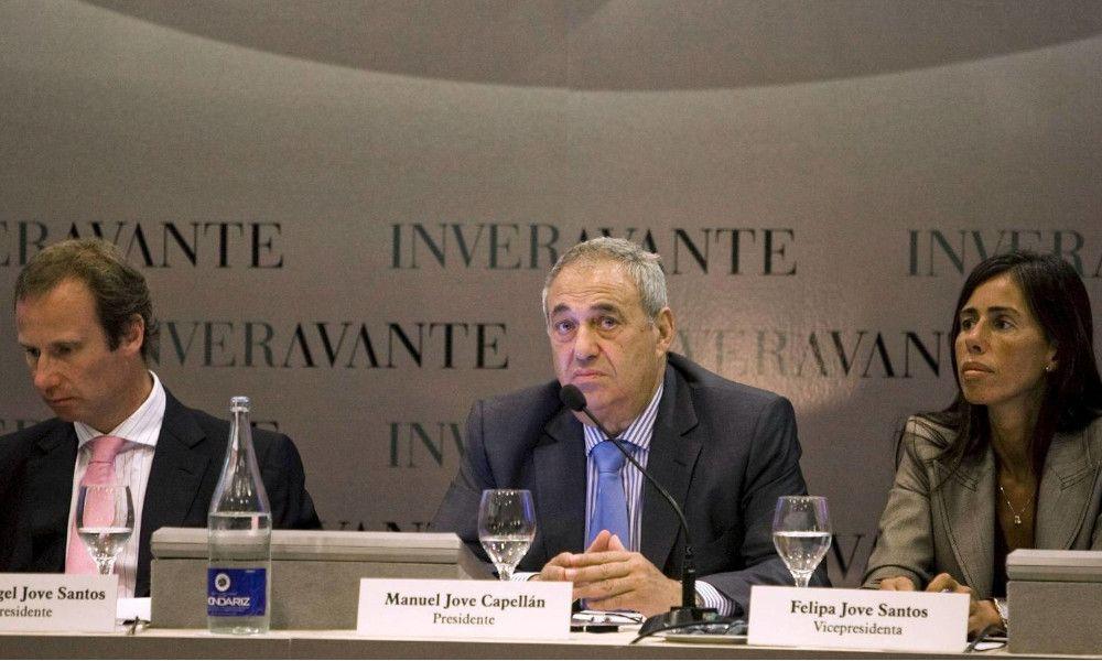 Los dos hijos de Manuel Jove compartirán la presidencia de Inveravante