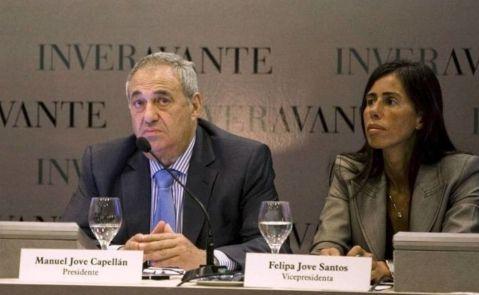 Manuel Jove, presidente de Inveravante, y Felipa Jove, vicepresidenta de Inveravante y presidenta de la Fundación María José Jove / EFE