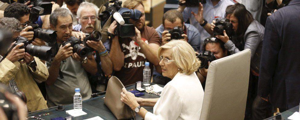 Carmena liquida 26 años del PP en el Ayuntamiento de Madrid