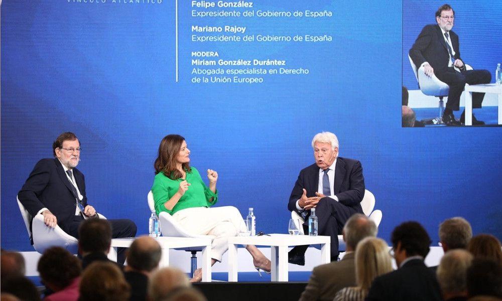 Amancio López volverá a unir en A Toxa a Rajoy y Felipe González