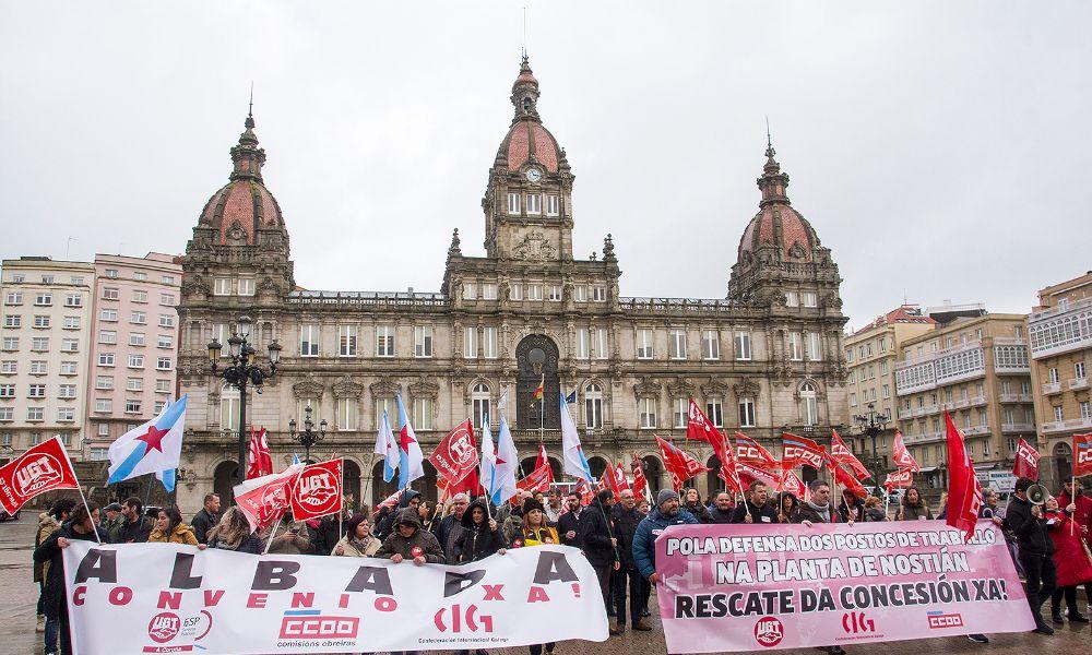 El Ayuntamiento de A Coruña amenaza con intervenir Nostián