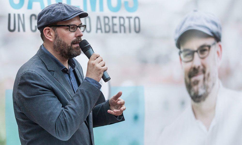 Martiño Noriega renuncia a su acta de concejal en Santiago tras el 12J