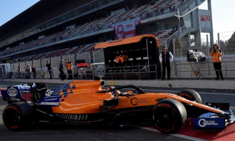 El alerón de Estrella Galicia hace volar a los McLaren