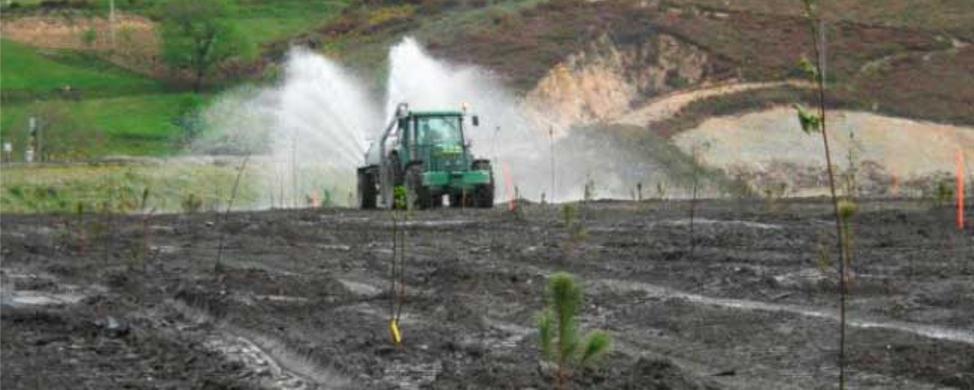 Presentan un proyecto para recuperar minas de pizarra con micotecnosoles