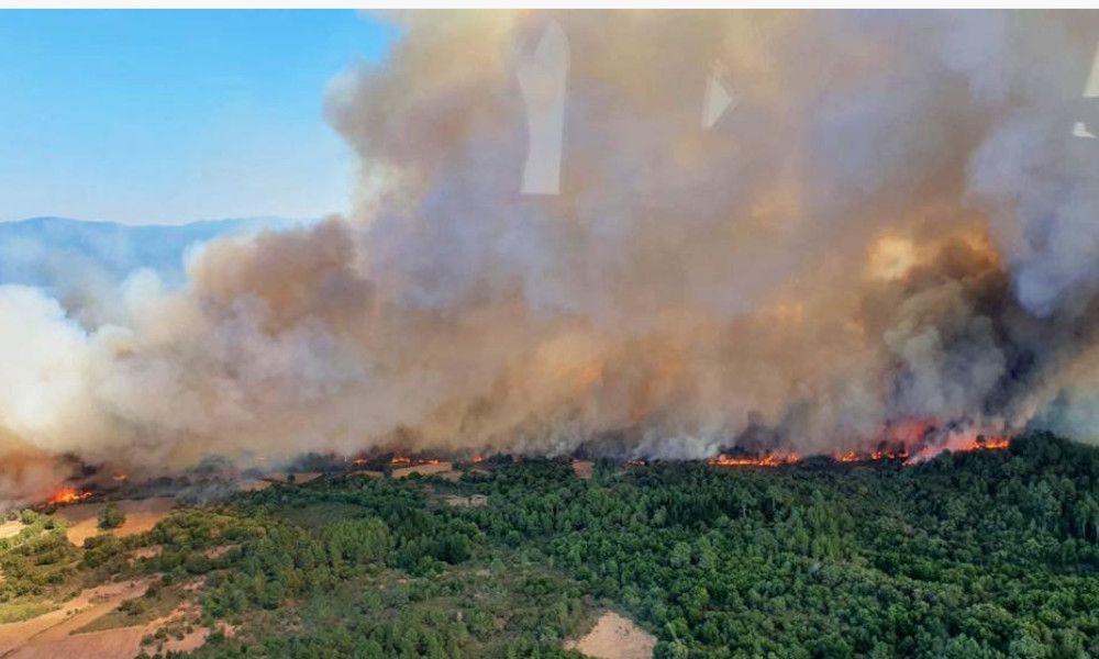 Jueves negro en Galicia: 500 hectáreas arrasadas por el fuego en horas