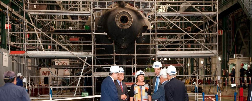 Empresas gallegas entran en el nuevo programa de submarinos de la Armada