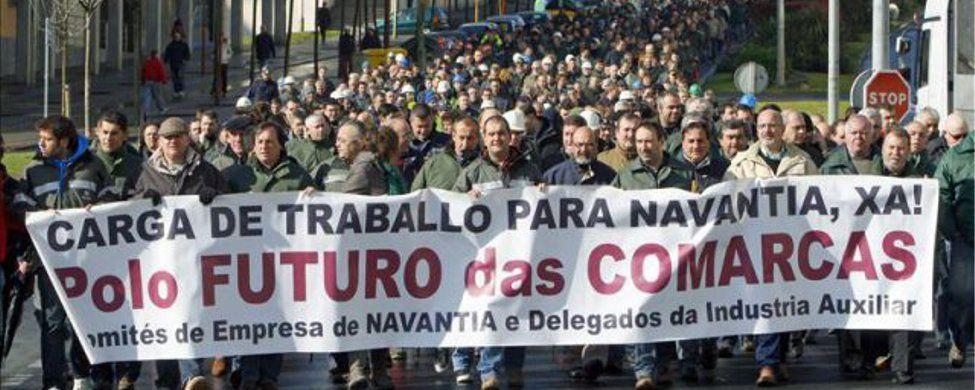 Con Pemex no es suficiente: nueva macro manifestación en Ferrol