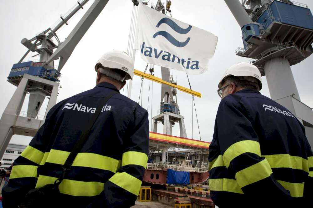 Vox maniobra para que Navantia se lleve una fragata de Ferrol a Cádiz