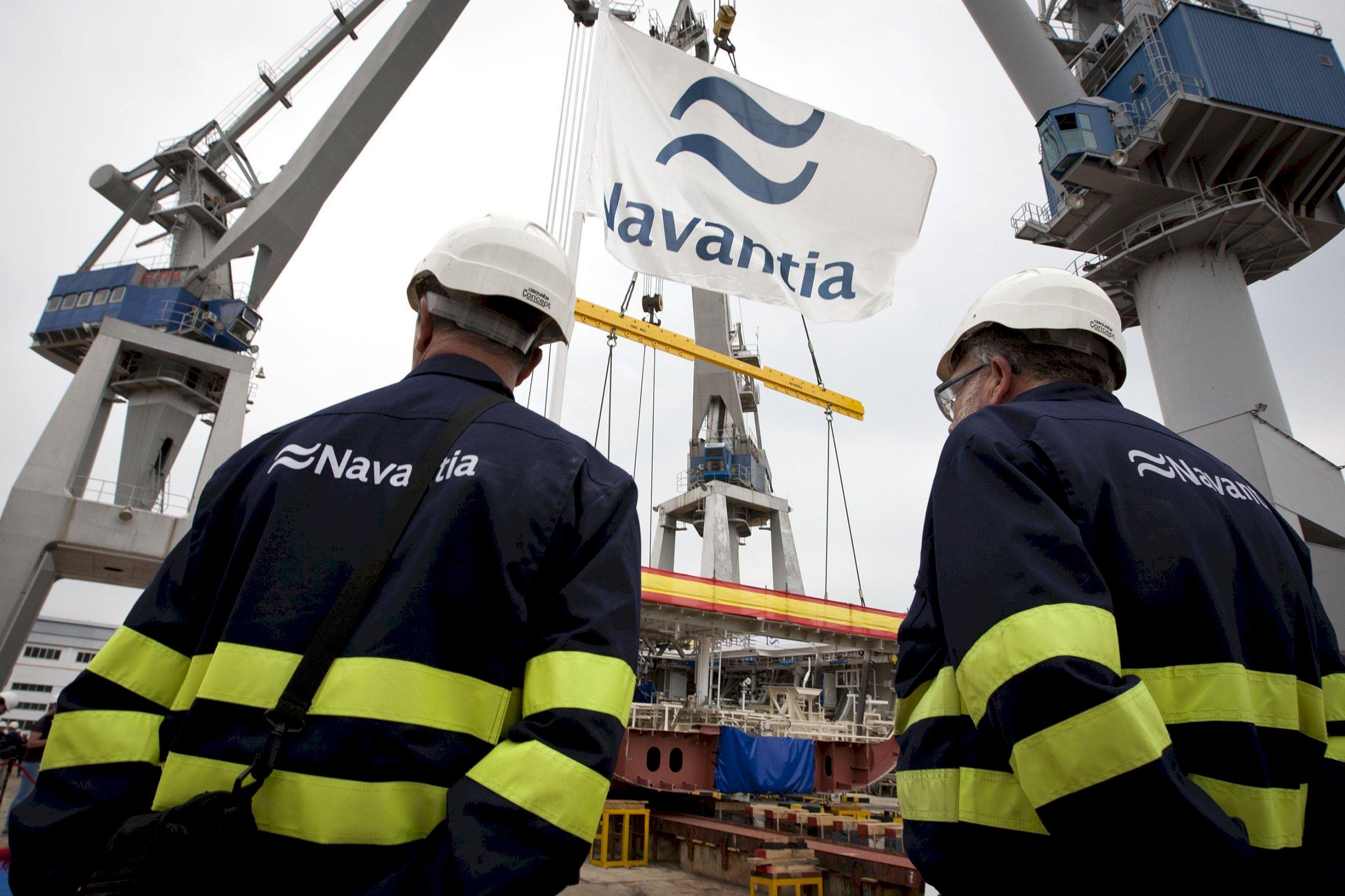 El naval ferrolano sale a la calle por las corbetas para Arabia Saudí