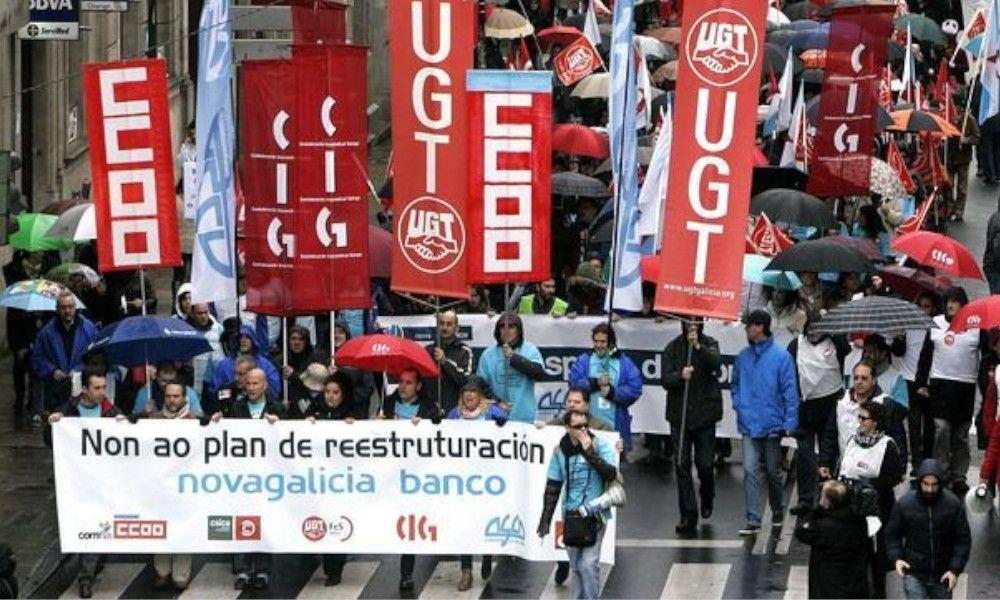 La banca destruye 5.000 empleos en Galicia en una década