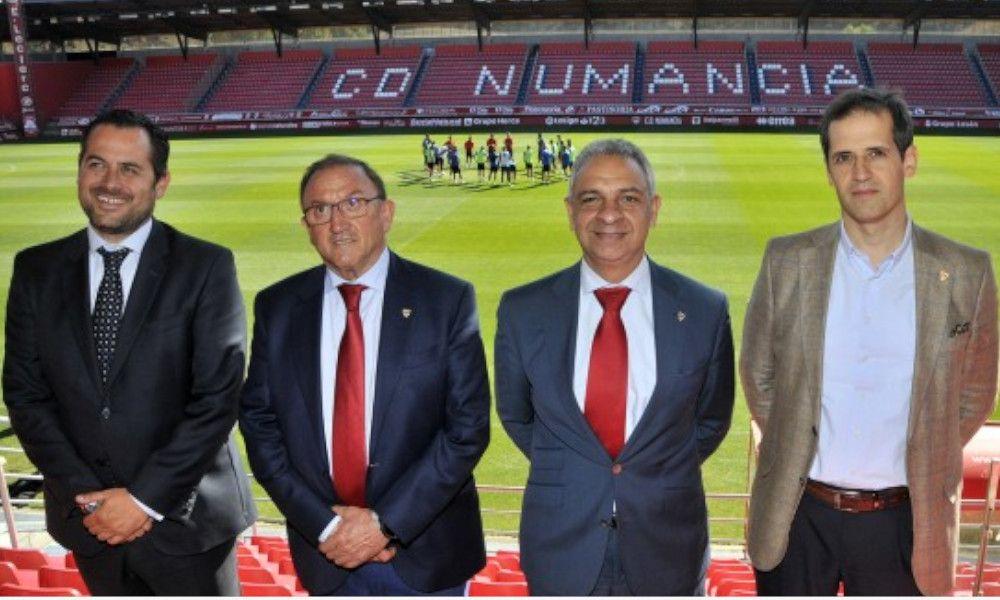 El Numancia hace piña con el Dépor para formar una liga de 24 equipos