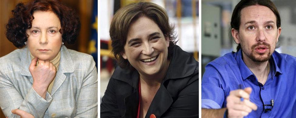 Ana Palacio compara el éxito de Ada Colau y Podemos con el Estado Islámico