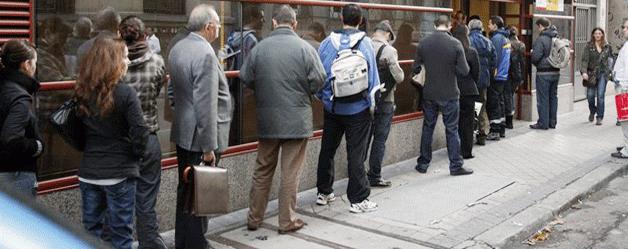 El paro está para quedarse, según la OCDE