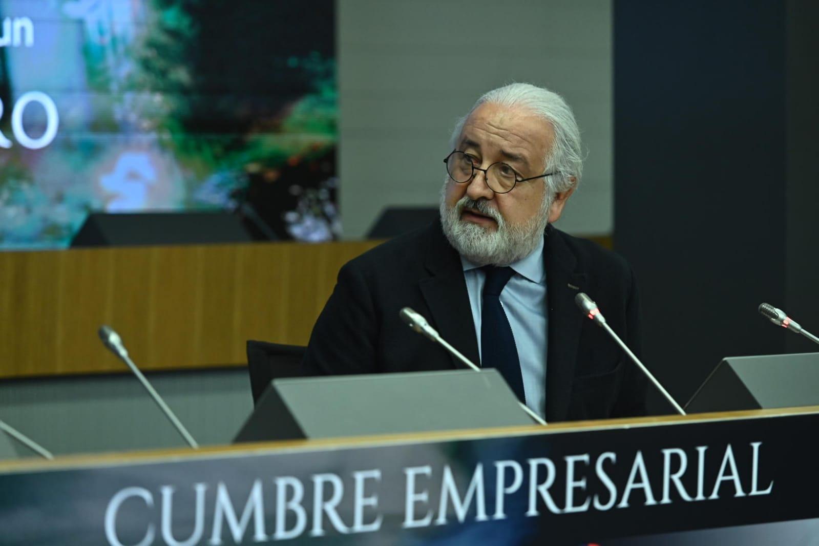 Pedro Campo, presidente de la Confederación del Comercio. Fotografía cedida.
