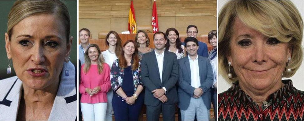 Ciudadanos ve a Cifuentes maniatada por Aguirre para alcanzar un pacto en Madrid