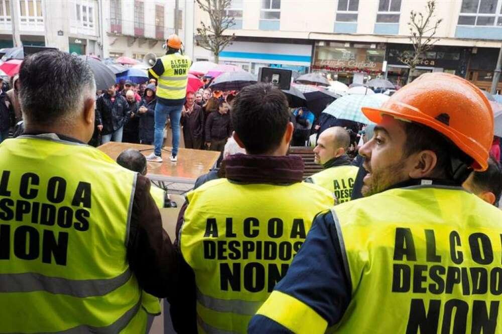 Alcoa: 210 millones en pérdidas en cuatro años en Lugo