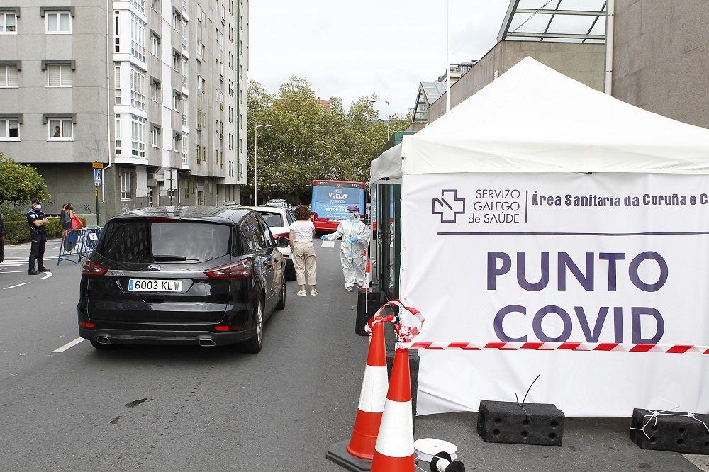 El Covid-19 retrocede en Galicia: 150 casos activos menos en tres días