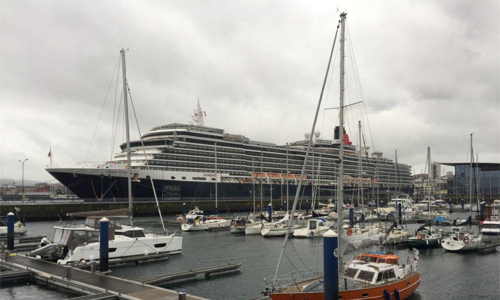 El Puerto de A Coruña se adapta al Covid con la feria Seatrade