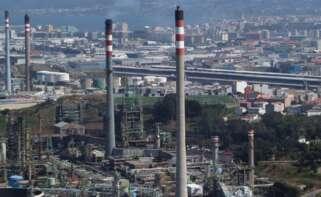 La refinería de Repsol en A Coruña