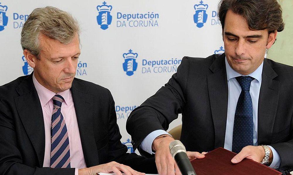 Alfonso Rueda y Diego Calvo escalan en la jerarquía del PP