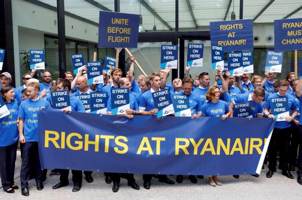 Los sindicatos europeos quieren que Ryanair no sea Ryanair