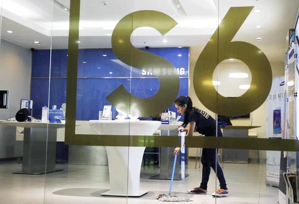Samsung pierde el reinado del mercado de móviles inteligentes