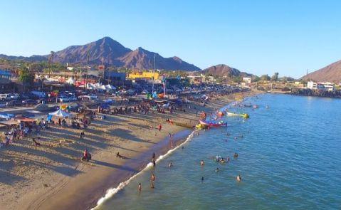 El macrocomplejo de Inveravante está a unos 30 km de San Felipe, en Baja California
