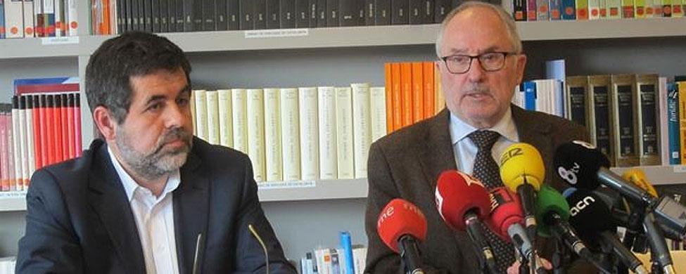 Polémica por la candidatura de Jordi Sànchez a la presidencia de la ANC
