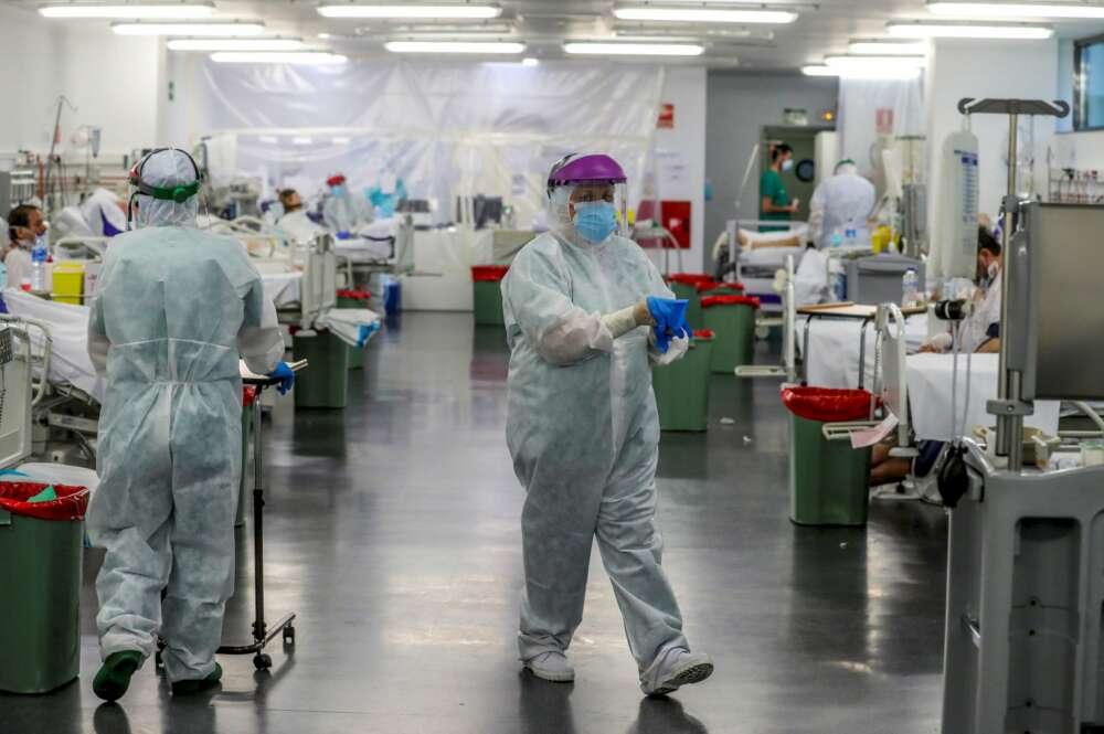 Covid-19 en Galicia: vuelven a caer los contagios y pacientes en UCI