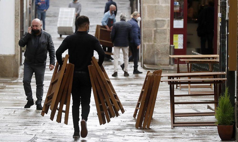 Gran parte de la hostelería seguirá cerrada por la nula rentabilidad de las terrazas