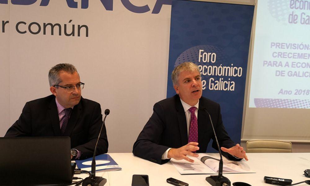 Frenazo en la economía gallega