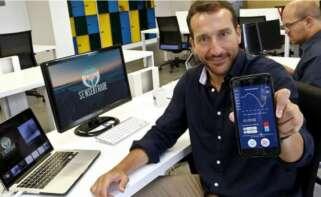 David Conde es el CEO y fundador de la 'app' gallega Senseitrade / Senseitrade