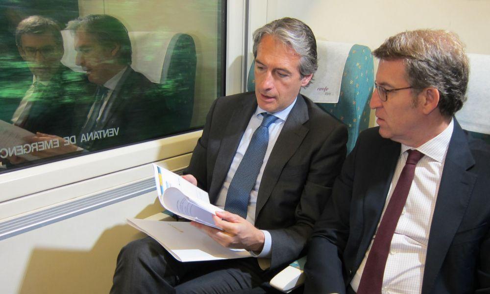 Fomento 'vende' mil millones para el tren entre Lugo y Ourense