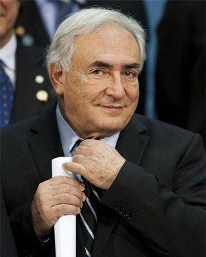 El director gerente del FMI, detenido por un presunto delito sexual